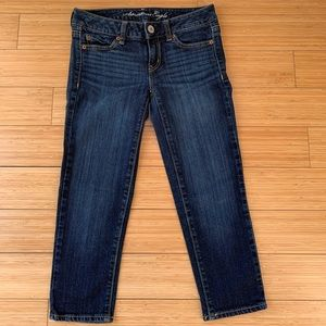 American Eagle Denim Cropped